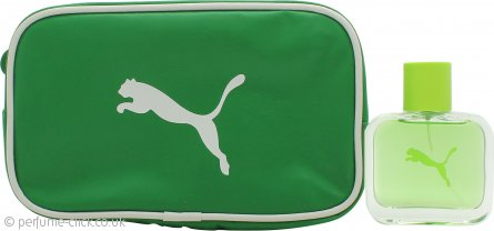 Puma Green Gift Set 40ml EDT + Pouch