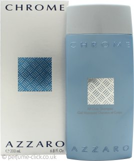 Azzaro Chrome All Over Shampoo 200ml