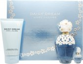 Marc Jacobs Daisy Dream Gift Set 100ml EDT + 150ml Body Lotion + 4ml EDT