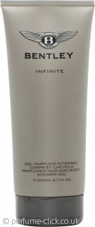 Bentley Infinite Hair & Body Shower Gel 200ml