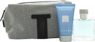 Azzaro Chrome Gift Set 30ml EDT + 50ml Shower Gel + Bag