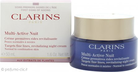 Clarins Multi-Active Nuit Revitalizing Crema Notte 50ml