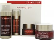 Clarins Replenishing Experts Presentset 50ml Super Restorative Day Cream + 30ml Double Serum Age Control