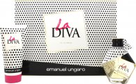 Emanuel Ungaro La Diva Gift Set 50ml EDP + 100ml Body Lotion