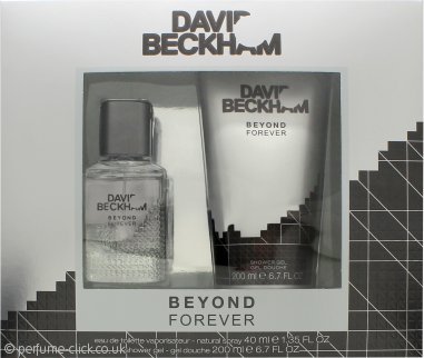 David & Victoria Beckham Beyond Forever Gift Set 40ml EDT + 200ml Shower Gel