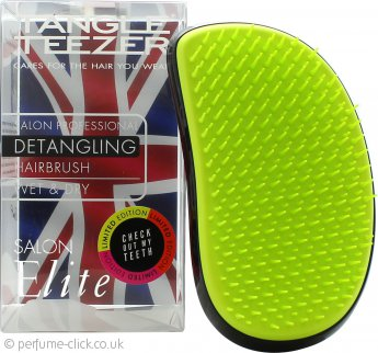 Tangle Teezer Salon Elite Detangling Hair Brush - Highlighters Lime