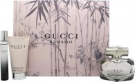 Gucci Bamboo Set de Regalo 50ml EDP + 50ml Loción Corporal + 7.4ml EDP