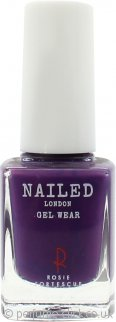 Nailed London Gel Wear Nail Polish 10ml - Crimson Crazy