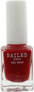 Nailed London Gel Wear Nail Polish 10ml - Rosie's Red