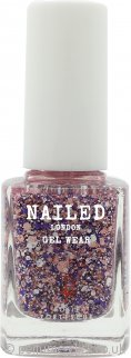 Nailed London Gel Wear Nail Polish 10ml - Fruit Punch Glitter