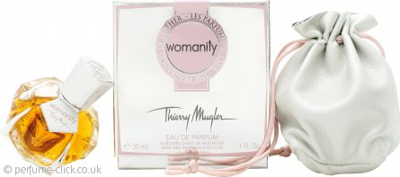 Thierry Mugler Womanity Les Parfums de Cuir - The Fragrance of Leather Eau de Parfum 30ml Spray