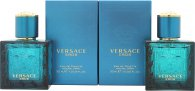 Versace Eros Gift Set 2 x 30ml EDT Spray