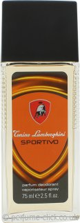 Lamborghini Sportivo Deodorant Spray 75ml