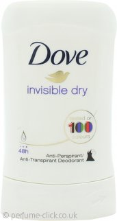Dove Invisible Dry Deodorant Stick 40ml