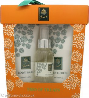 Taylor of London Tweed Gift Set 100ml EDT + 200ml Body Lotion + 200ml Body Wash