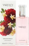 Yardley English Dahlia Eau de Toilette 50ml Vaporizador