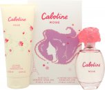 Gres Parfums Cabotine Rose Gift Set 100ml EDT + 200ml Body Lotion