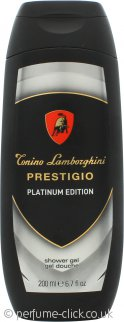 Lamborghini Prestigo Platinum Edition Shower Gel 200ml