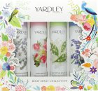 Yardley Body Spray Confezione Regalo 4 x 75ml - English Bluebell + Lily of the Valley  + English Rose + English Lavender