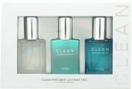 Clean Ultimate Layering Trio Gift Set 30ml Air EDP + 30ml Warm Cotton EDP + 30ml Shower Fresh EDP