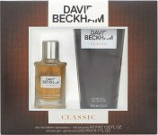 David Beckham Classic Gift Set 40ml EDT + 200ml Shower Gel
