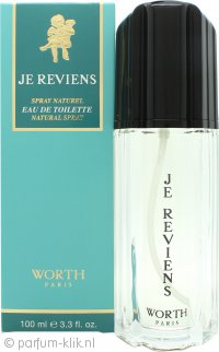 Worth Je Reviens Eau de Toilette 100ml Spray