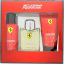 Ferrari Scuderia Ferrari Red Gift Set 125ml EDT + 150ml Deodorant Sprej + 150ml Hair & Body Wash