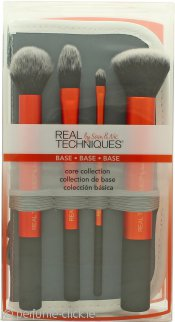 Real Techniques Core Collection Brush Gift Set 4 x Brushes