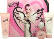 Katy Perry Mad Love Set de Regalo 30ml EDP + 75ml Loción Corporal + 75ml Gel de Ducha