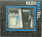 RudiMENtal Blue Pour Homme Gift Set 100ml EDT + 150ml Shower Gel