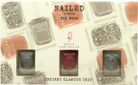 Nailed London Gel Wear Instant Glamour Confezione Regalo 3 x 10ml Smalti (Knight Rider + London Conundrum + Rosie's Red)