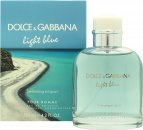 Dolce & Gabbana Light Blue Pour Homme Swimming in Lipari Eau de Toilette 125ml Sprej