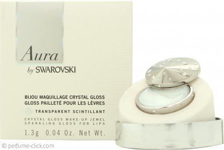 Swarovski Aura Crystal Lip Gloss Pendant 1.3g - Transparent