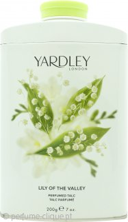 Yardley Lily of the Valley Perfumed Talc 200g