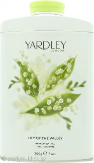 Yardley Lily of the Valley Parfymerat Talk 200g