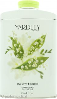 Yardley Lily of the Valley Talco Profumato 200g