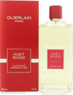 Guerlain Habit Rouge Eau De Toilette 200ml Spray