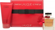 Lalique Le Parfum Gift Set 100ml EDP + 150ml Shower Gel