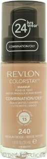 Revlon ColorStay Maquillaje 30ml - Medium Beige Pieles Mixtas/Grasas