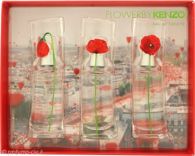 Kenzo Flower Miniature Confezione Regalo 3 x 15ml
