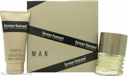 Bruno Banani Man Gift Set 30ml EDT + 50ml Shower Gel