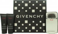 Givenchy Play Gift Set 100ml EDT + 75ml Aftershave + 75ml Shower Gel