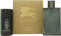 Burberry Brit Rhythm Gift Set 90ml EDT Spray + 75g Deodorant Stick