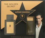 Antonio Banderas The Golden Secret Gift Set 1.7oz (50ml) EDT + 3.4oz (100ml) A/Shave Balm