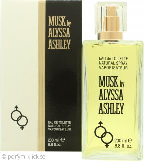 Alyssa Ashley Musk Eau de Toilette 200ml Sprej