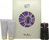 Thierry Mugler Alien Gift Set 60ml Eau de Parfum Refillable + 100ml Body Lotion + 100ml Shower Gel