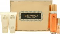 Elizabeth Taylor White Diamonds Set de Regalo 100ml EDT + 100ml Loción Corporal + 100ml Gel de Ducha + 15ml EDP