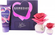 Justin Bieber Someday Gift Set 50ml EDP + 100ml Body Lotion + 7.4ml Mini
