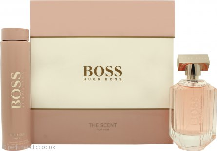 Hugo Boss The Scent for Her Gift Set 100ml EDP + 200ml Body Lotion