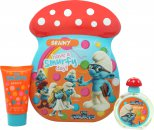 The Smurfs Brainy Geschenkset 50ml EDT + 75ml Bubbelbad